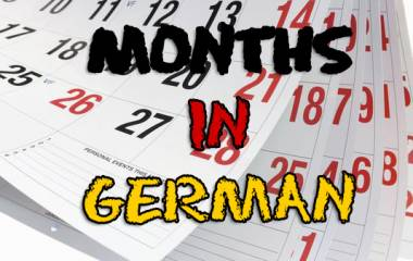 The game Months in German