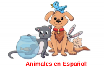 The game Animals in Spanish