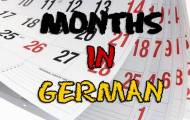 Play Months in German