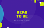 Verb 'to Be'