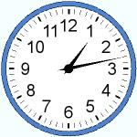 The whole clock