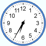 Twenty-five minutes to