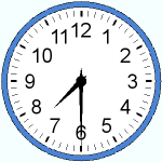 Hours and half-hours